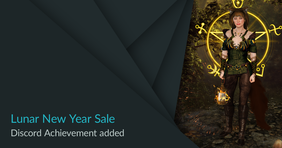 Overhead Games ePic Character Generator Lunar New Year Sale 2021 Discord Achievement