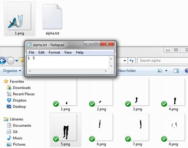 ePic Character Generator Alpha Example