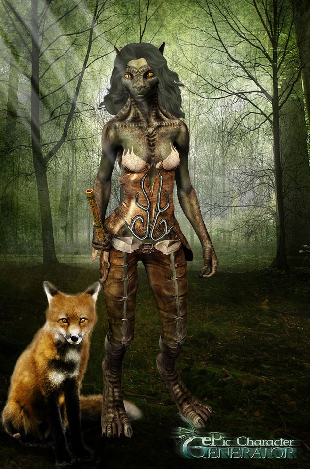 ePic Character Generator Season 1 Anthro Cat Female Screenshot 4