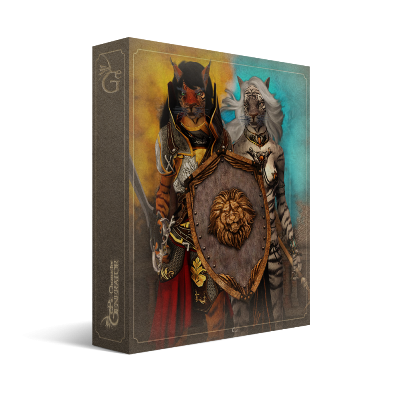 ePic Character Generator Season 1 Anthro Female Box