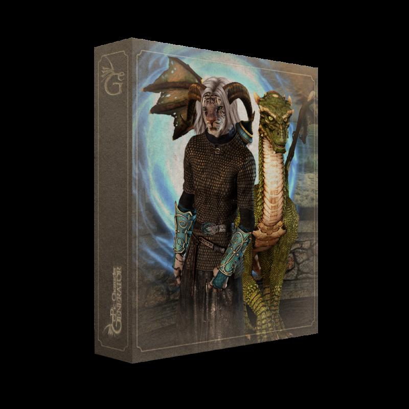 ePic Character Generator Season 1 Anthro Male Box