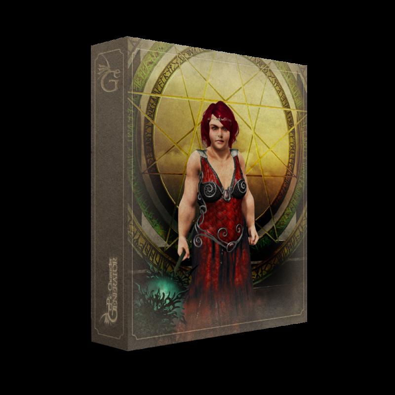 ePic Character Generator Season 1 Dwarf Female Box