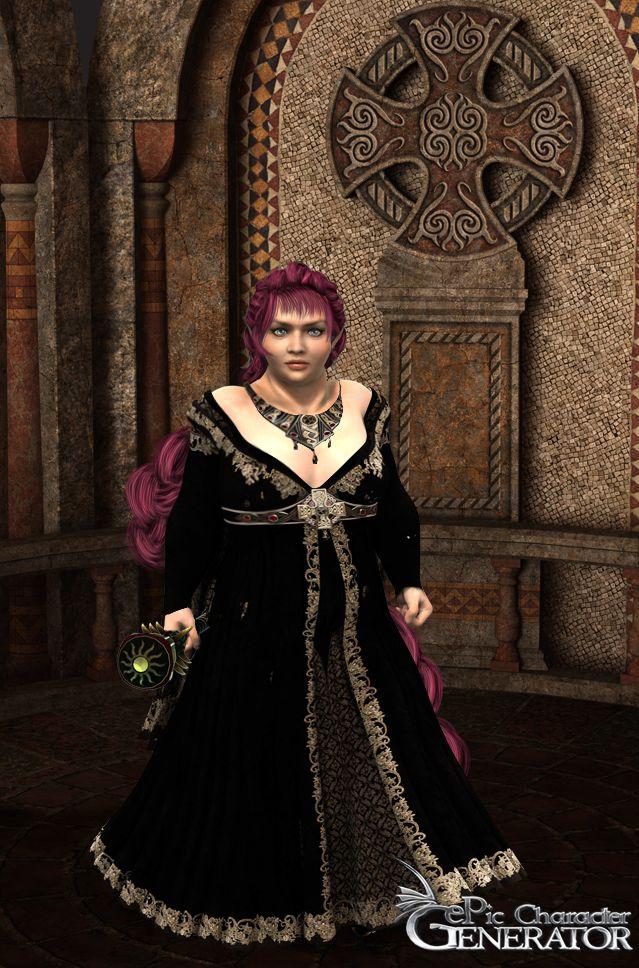 ePic Character Generator Season 1 Dwarf Female Screenshot 1
