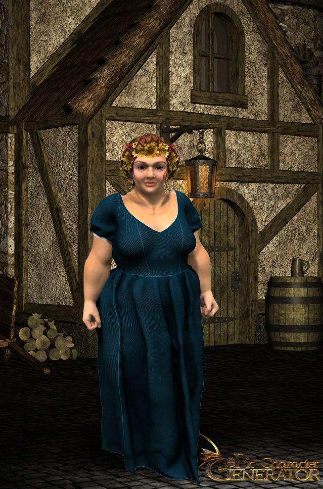 ePic Character Generator Season 1 Dwarf Female Screenshot 2
