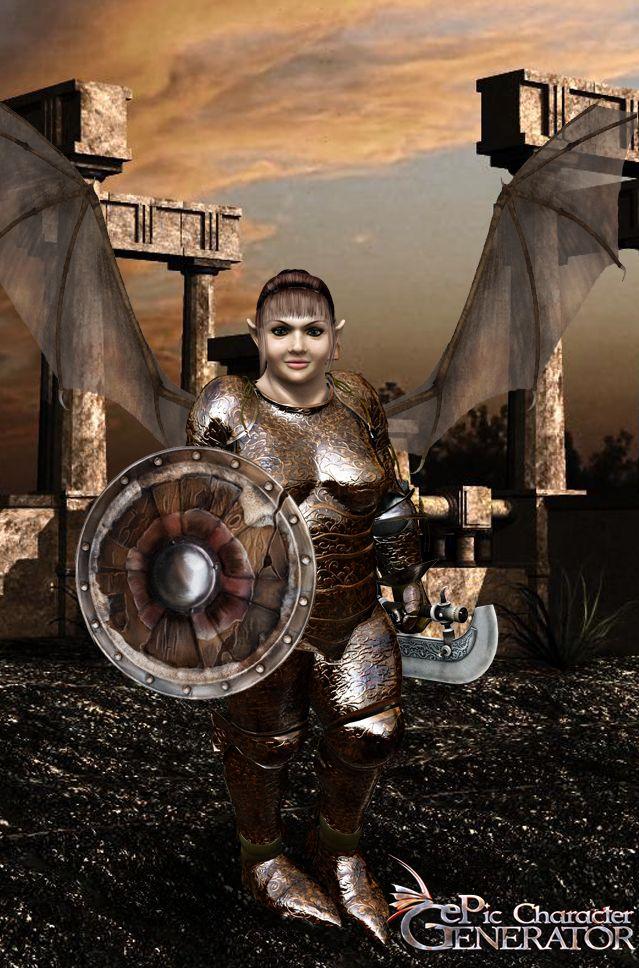 ePic Character Generator Season 1 Dwarf Female Screenshot 3