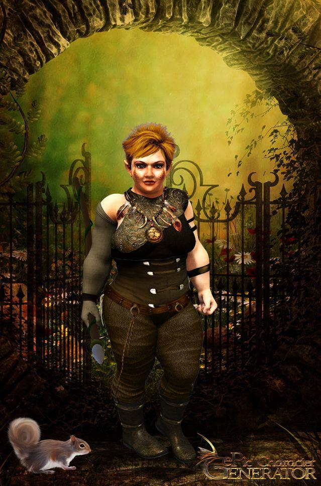 ePic Character Generator Season 1 Dwarf Female Screenshot 4