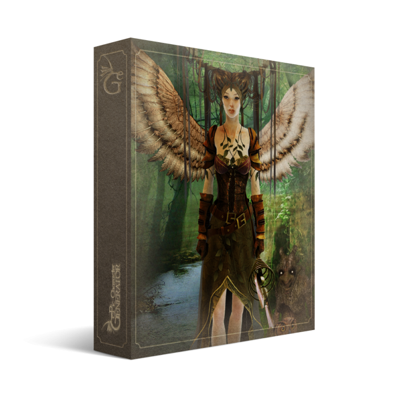 ePic Character Generator Season 1 Elf Female Box