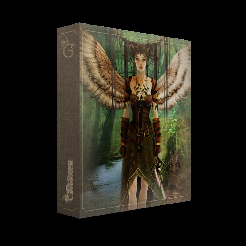 ePic Character Generator Season 1 Elf Female Box