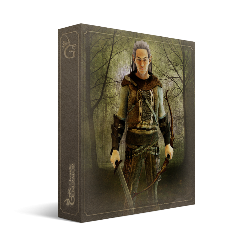 ePic Character Generator Season 1 Elf Male Box