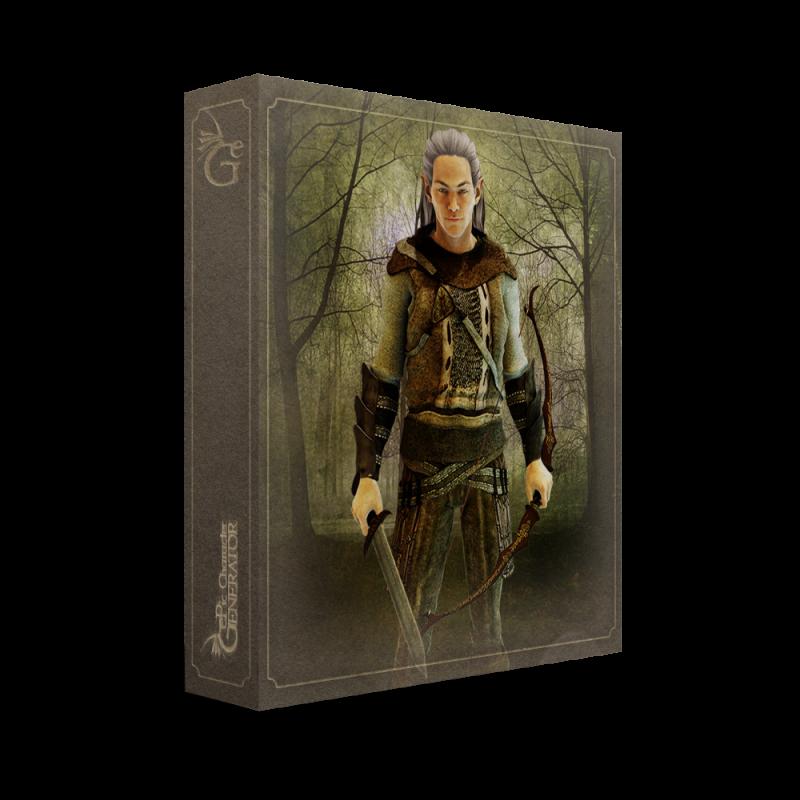 ePic Character Generator Season 1 Elf Male Box