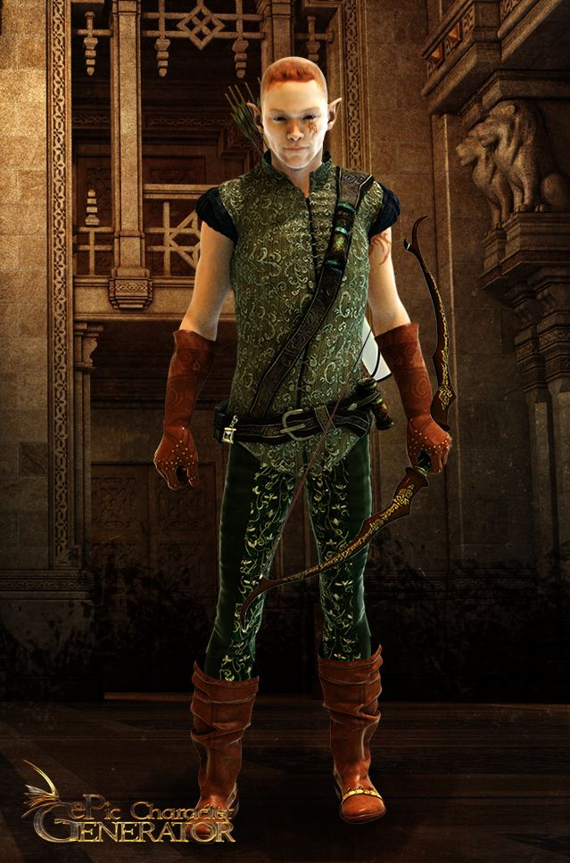ePic Character Generator Season 1 Elf Male Screenshot 2