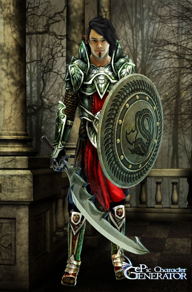 ePic Character Generator Season 1 Elf Male Screenshot 3