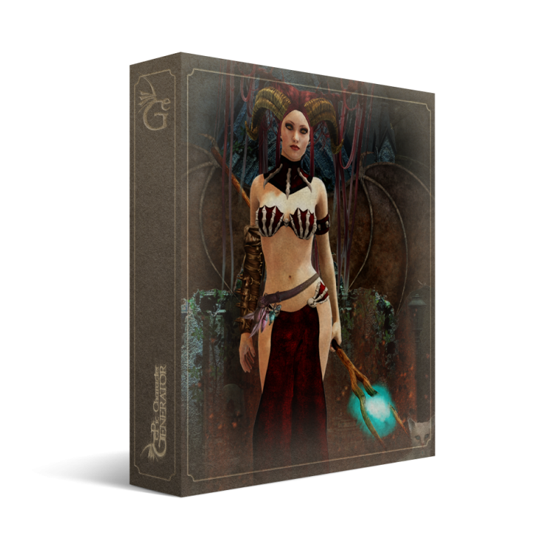 ePic Character Generator Season 1 Human Female Box