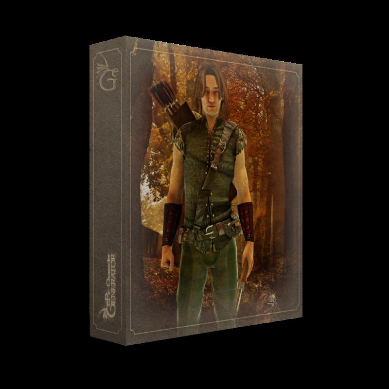 ePic Character Generator Season 1 Human Male Box