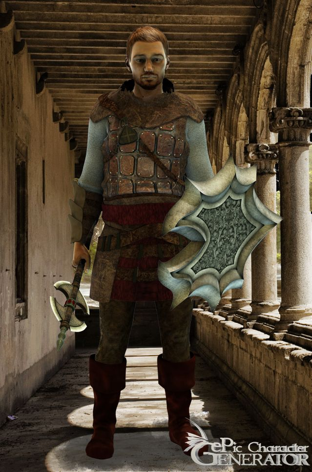 ePic Character Generator Season 1 Human Male Screenshot 1