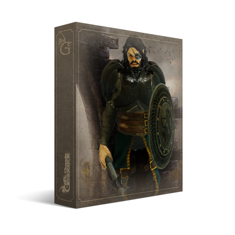 ePic Character Generator Season 1 Ork Male Box