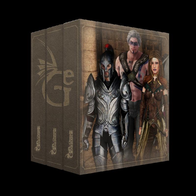 ePic Character Generator Season 2 Fantasy Starter Bundle Box