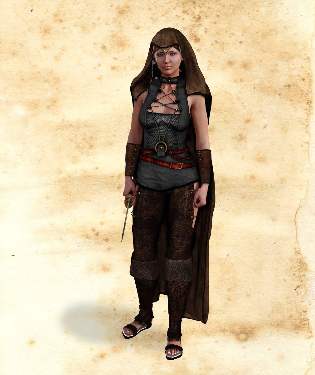 ePic Character Generator Season 2 Female Adventurer 1 Screenshot 02
