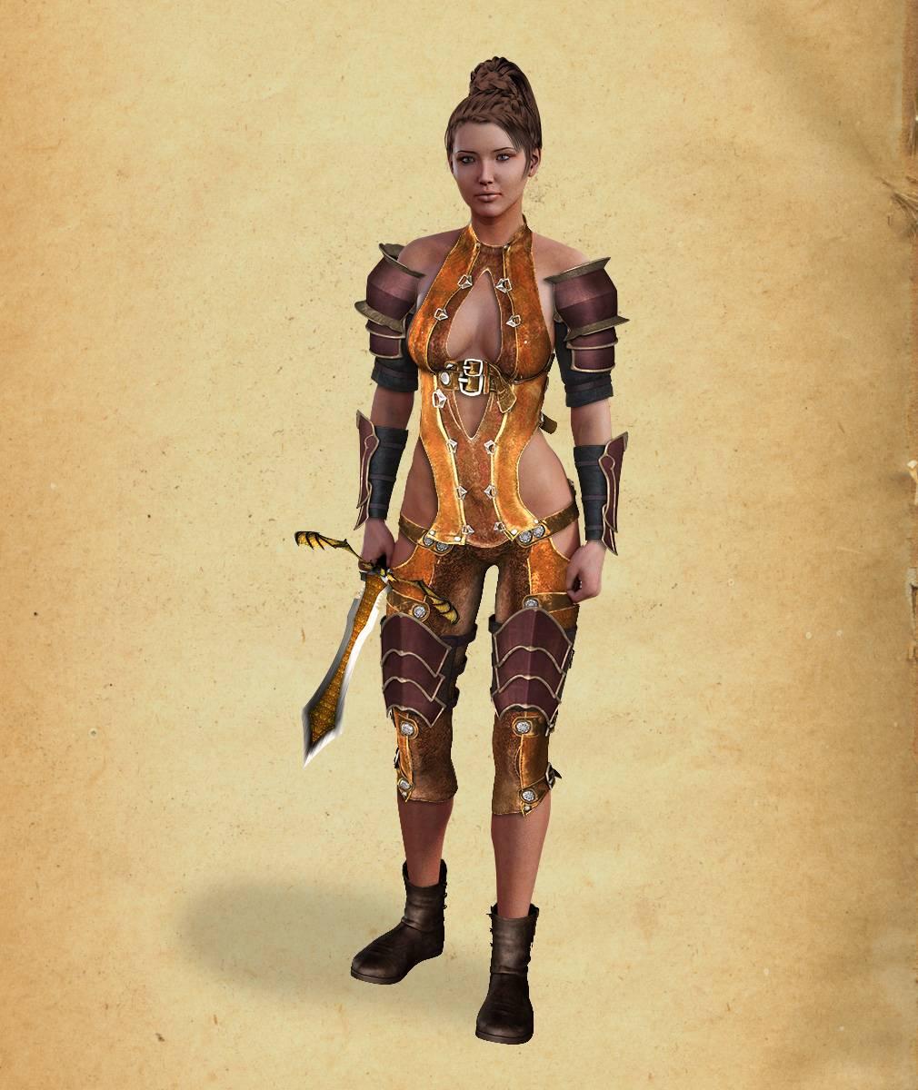ePic Character Generator Season 2 Female Adventurer 1 Screenshot 11