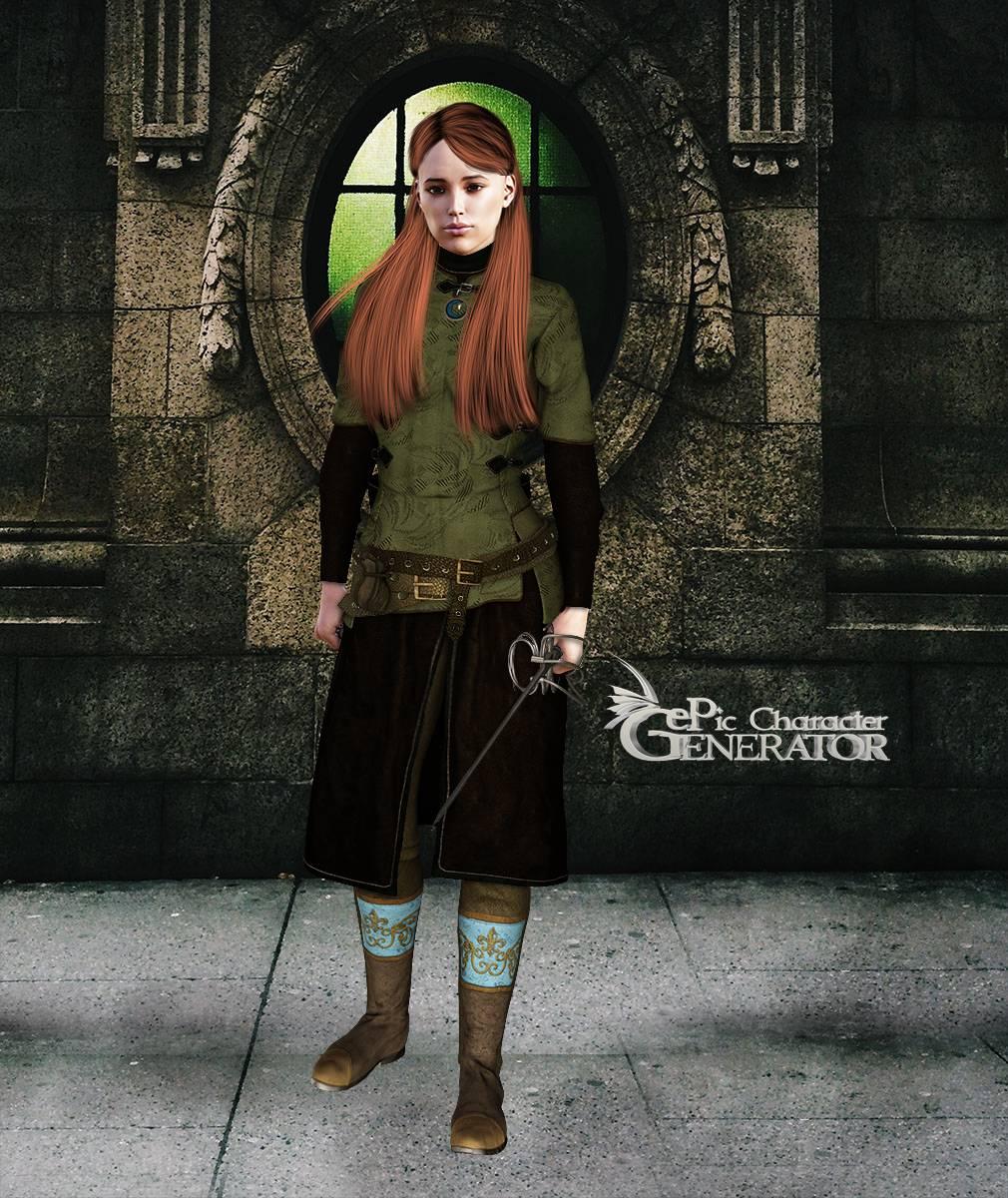 ePic Character Generator Season 2 Female Adventurer 2 Screenshot 11