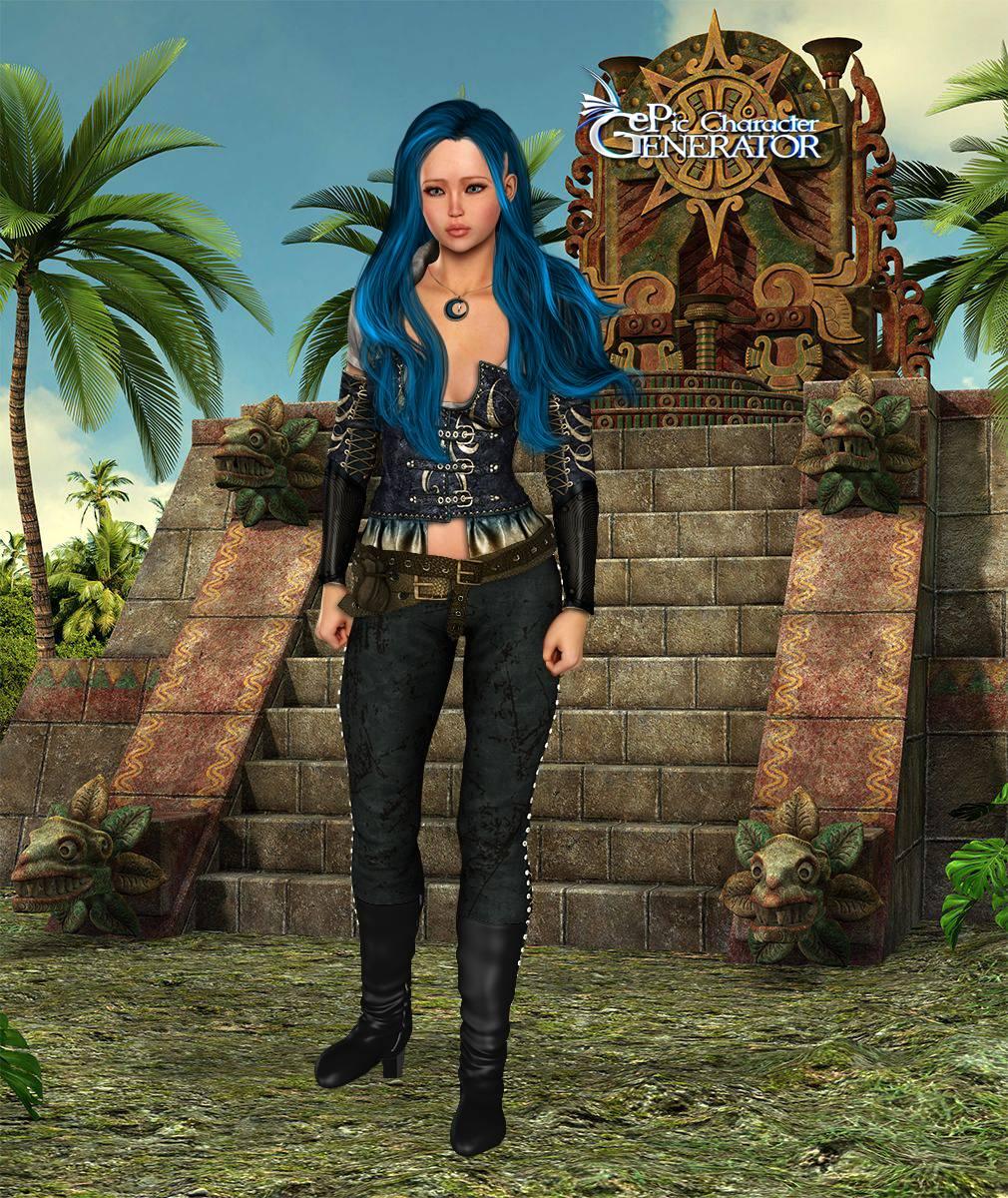 ePic Character Generator Season 2 Female Adventurer 2 Screenshot 12