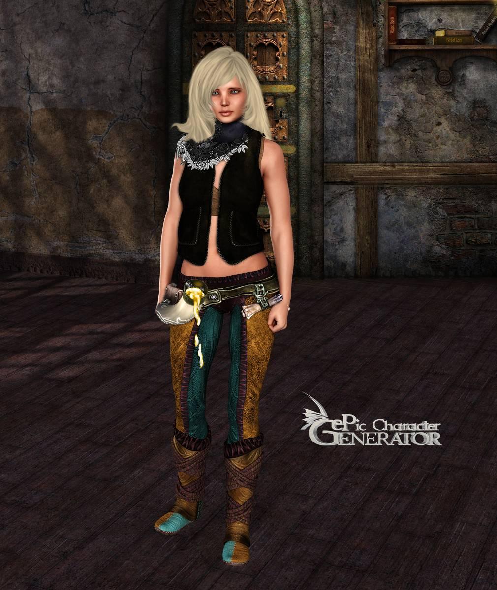 ePic Character Generator Season 2 Female Adventurer 2 Screenshot 13