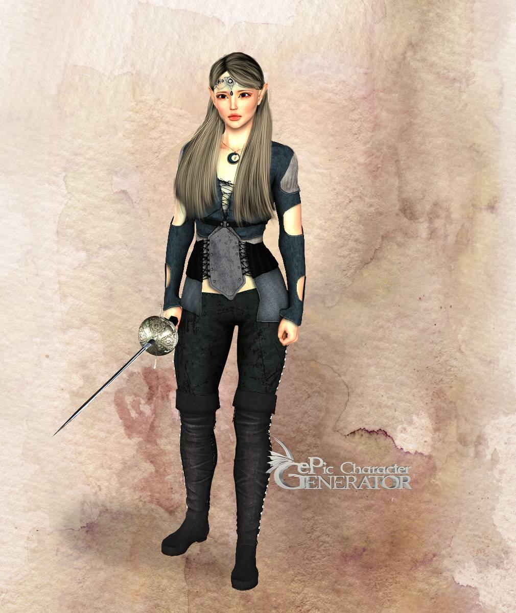 ePic Character Generator Season 2 Female Adventurer 2 Screenshot 14