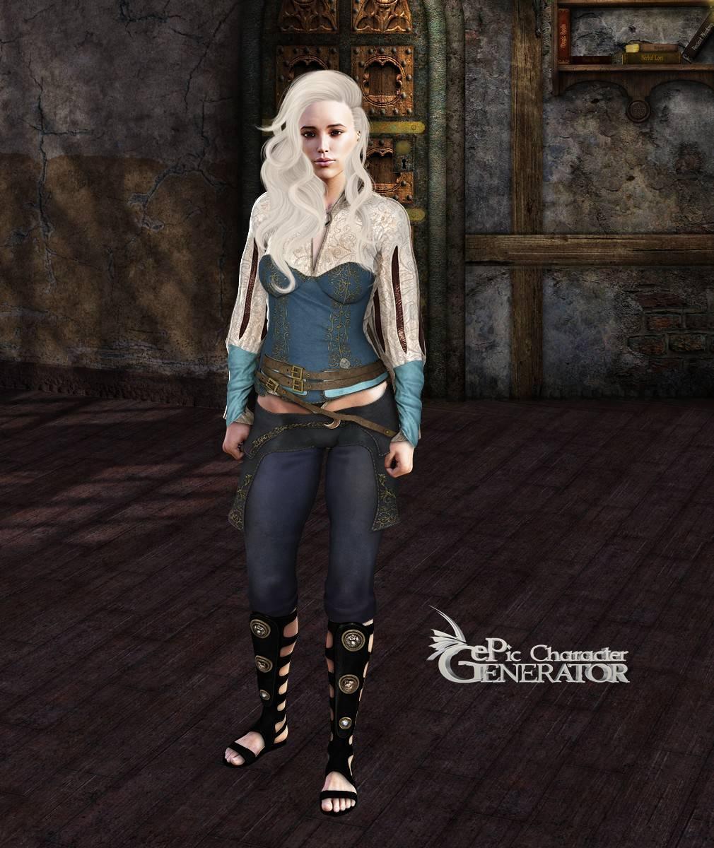 ePic Character Generator Season 2 Female Adventurer 2 Screenshot 15