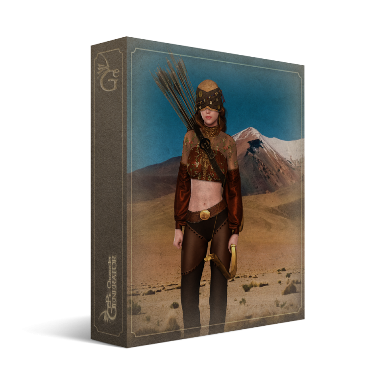 ePic Character Generator Season 2 Female Adventurer Box