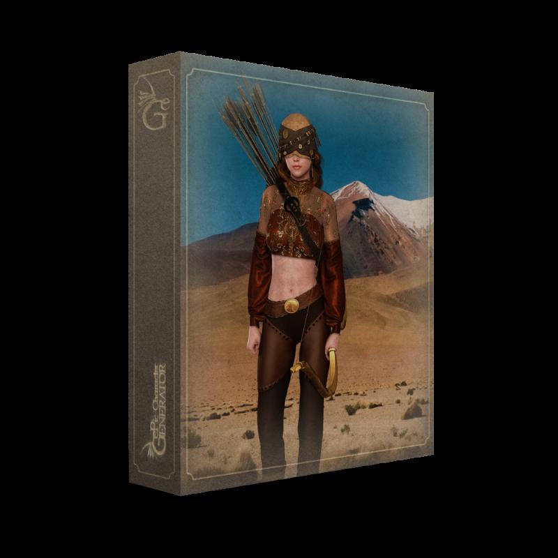 ePic Character Generator Season 2 Female Adventurer Box