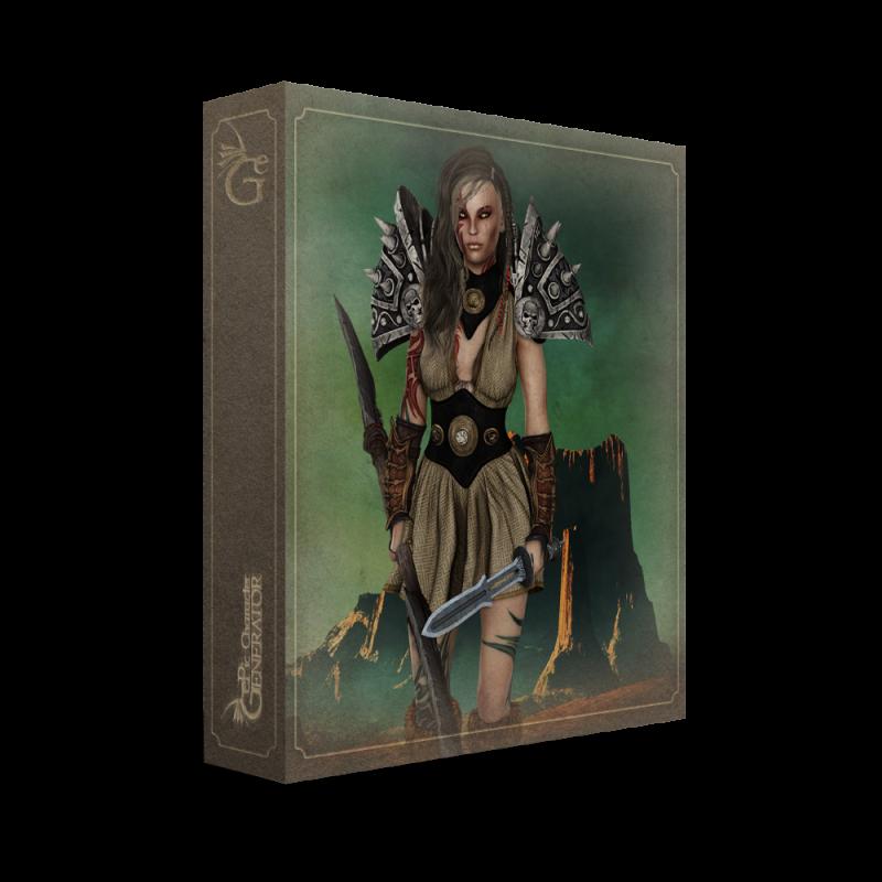 ePic Character Generator Season 2 Female Barbarian Box