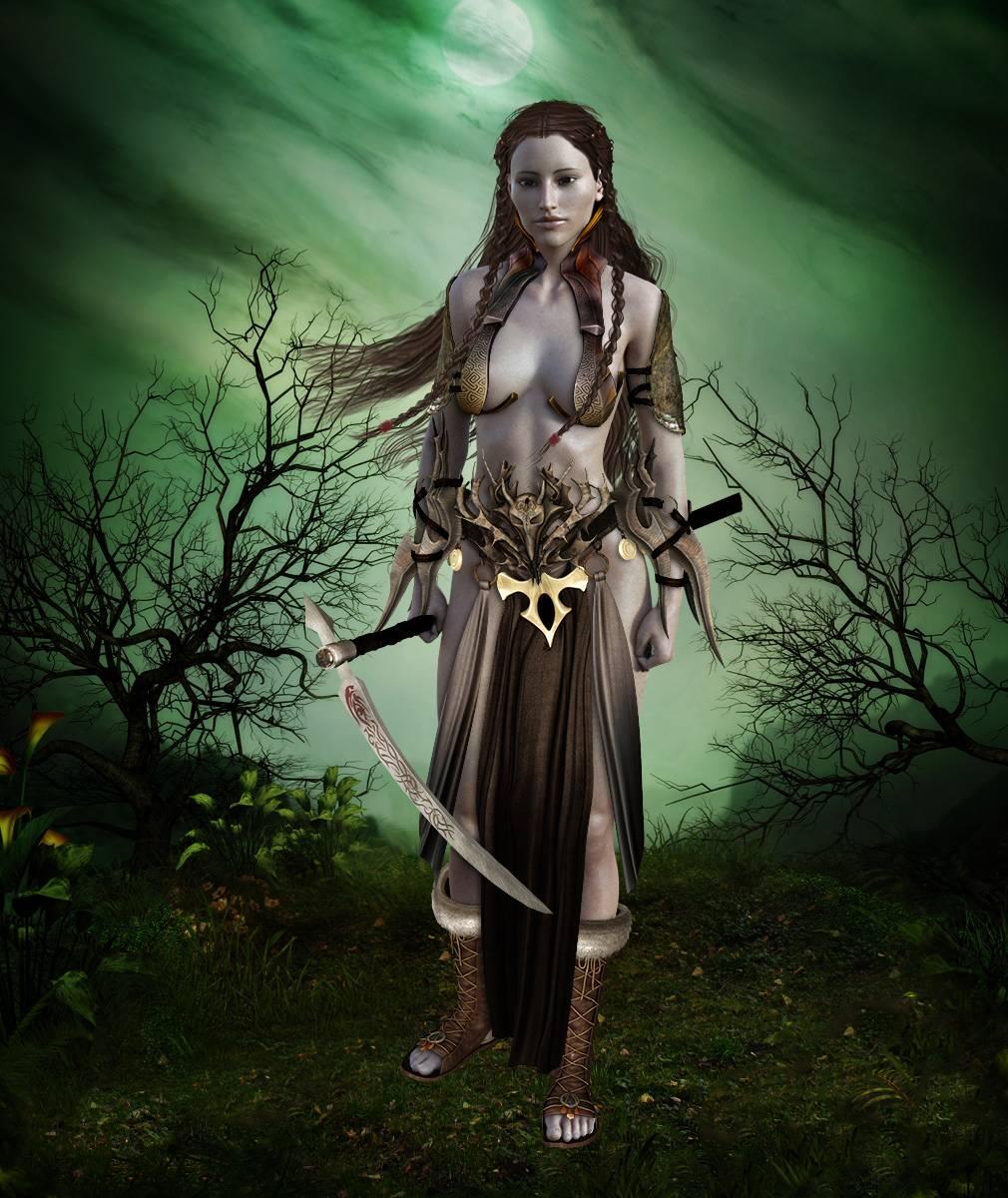 ePic Character Generator Season 2 Female Barbarian Screenshot 02