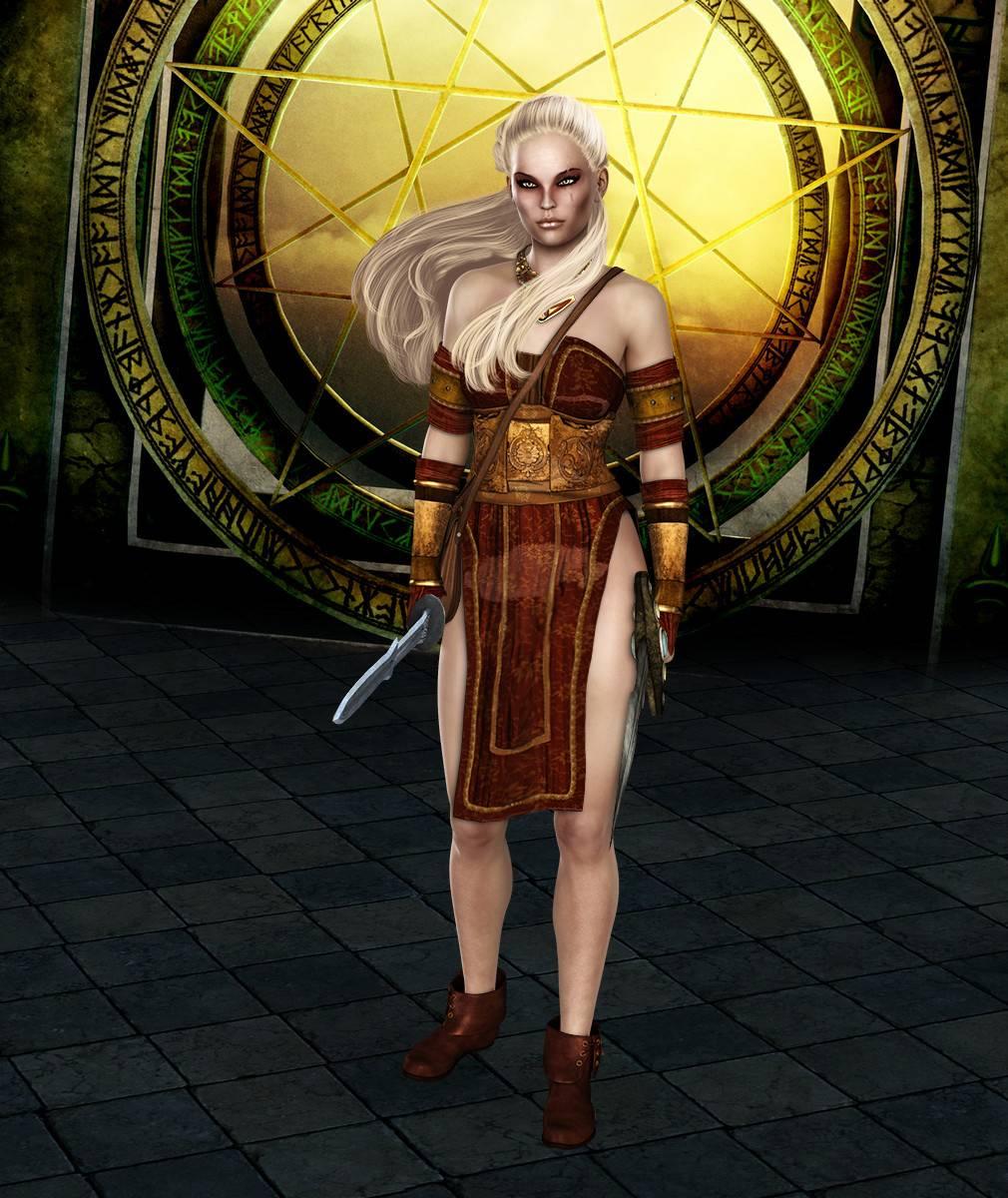 ePic Character Generator Season 2 Female Barbarian Screenshot 04