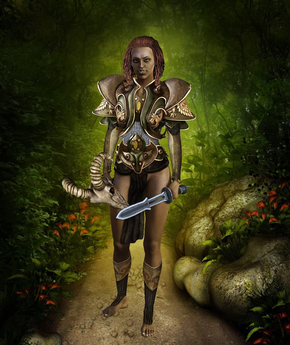 ePic Character Generator Season 2 Female Barbarian Screenshot 05