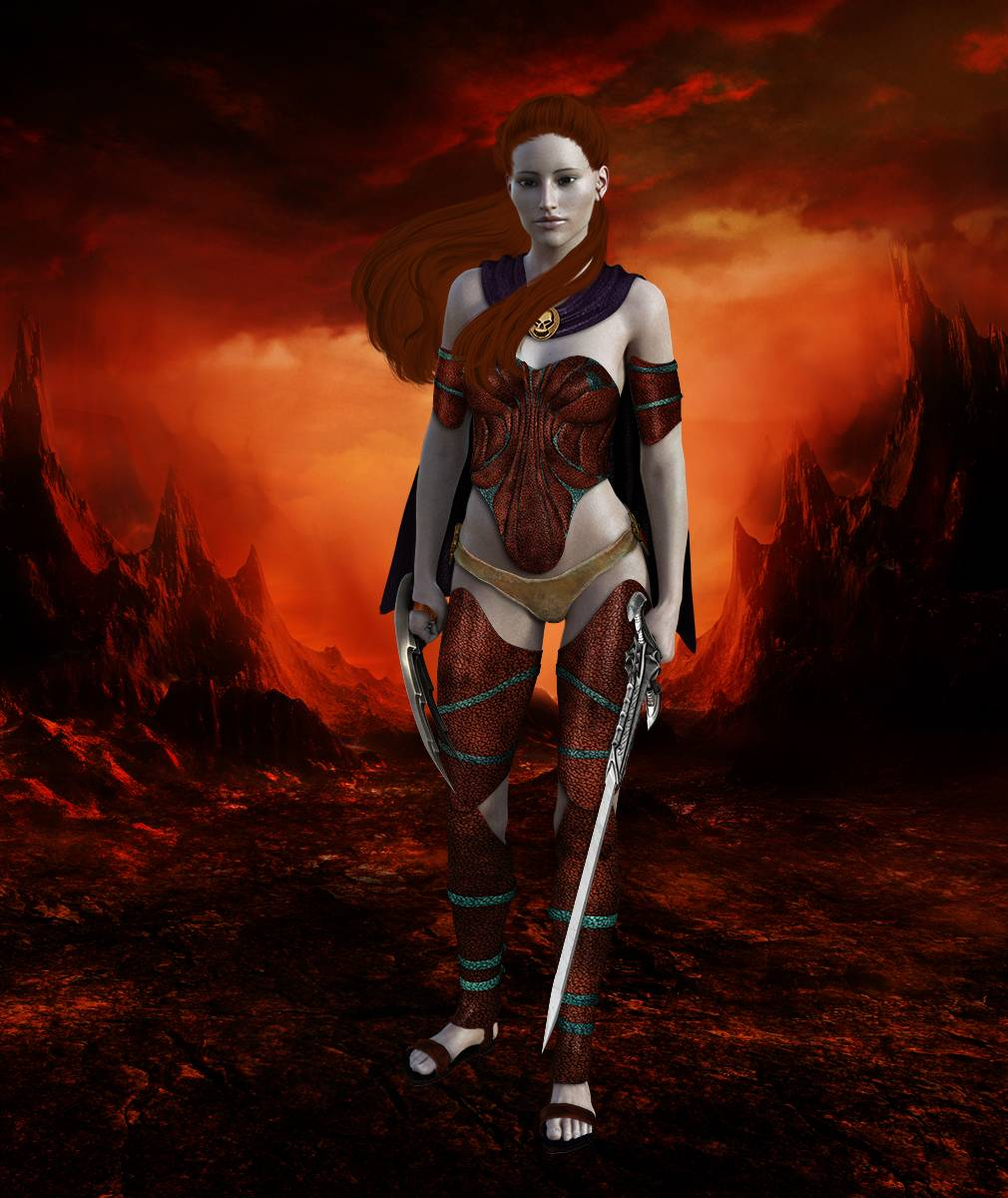 ePic Character Generator Season 2 Female Barbarian Screenshot 06