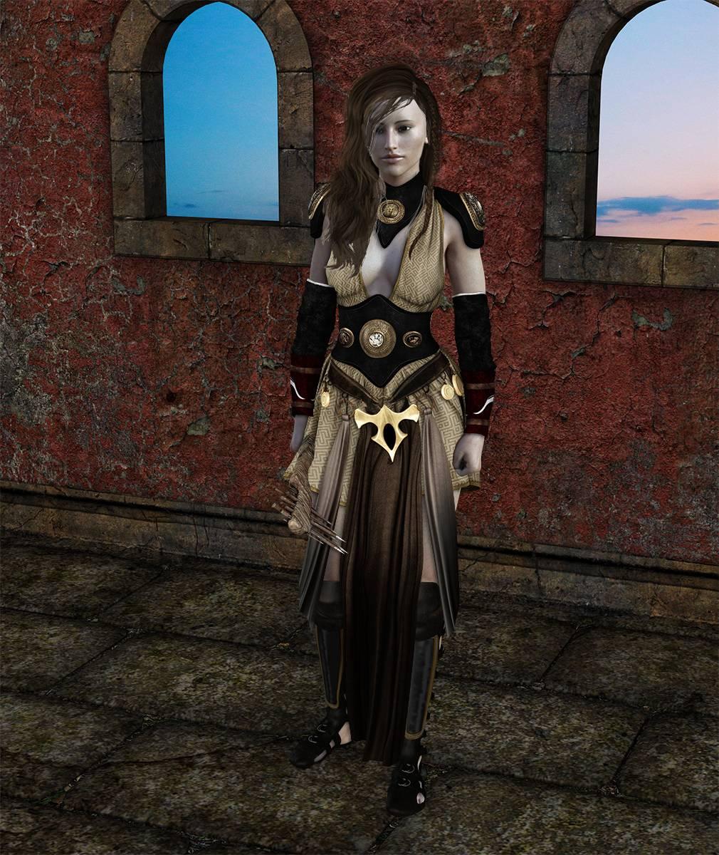 ePic Character Generator Season 2 Female Barbarian Screenshot 11