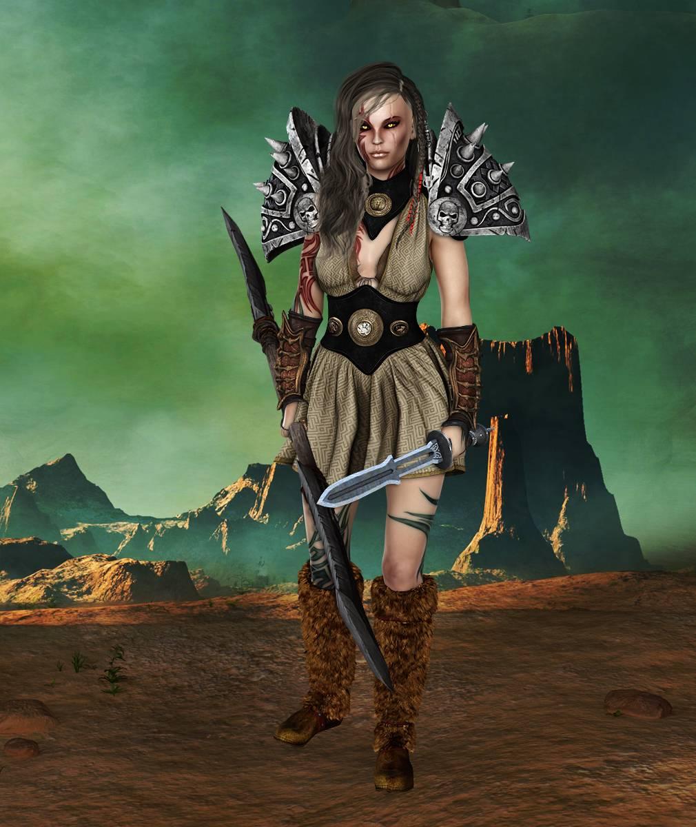ePic Character Generator Season 2 Female Barbarian Screenshot 13