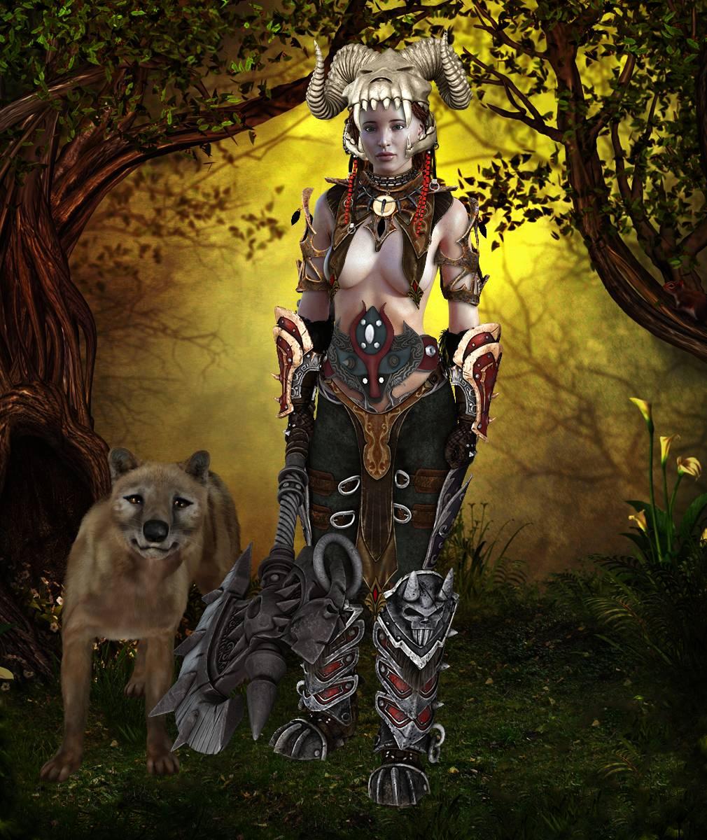 ePic Character Generator Season 2 Female Barbarian Screenshot 15