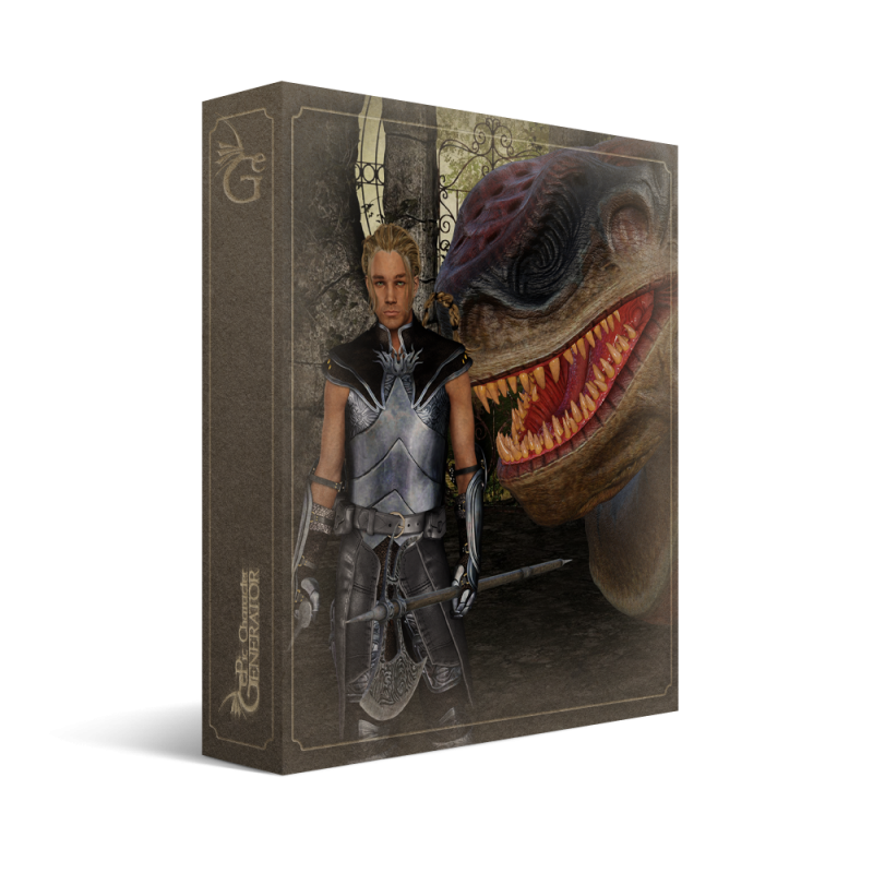 ePic Character Generator Season 2 Female Bestiary Box