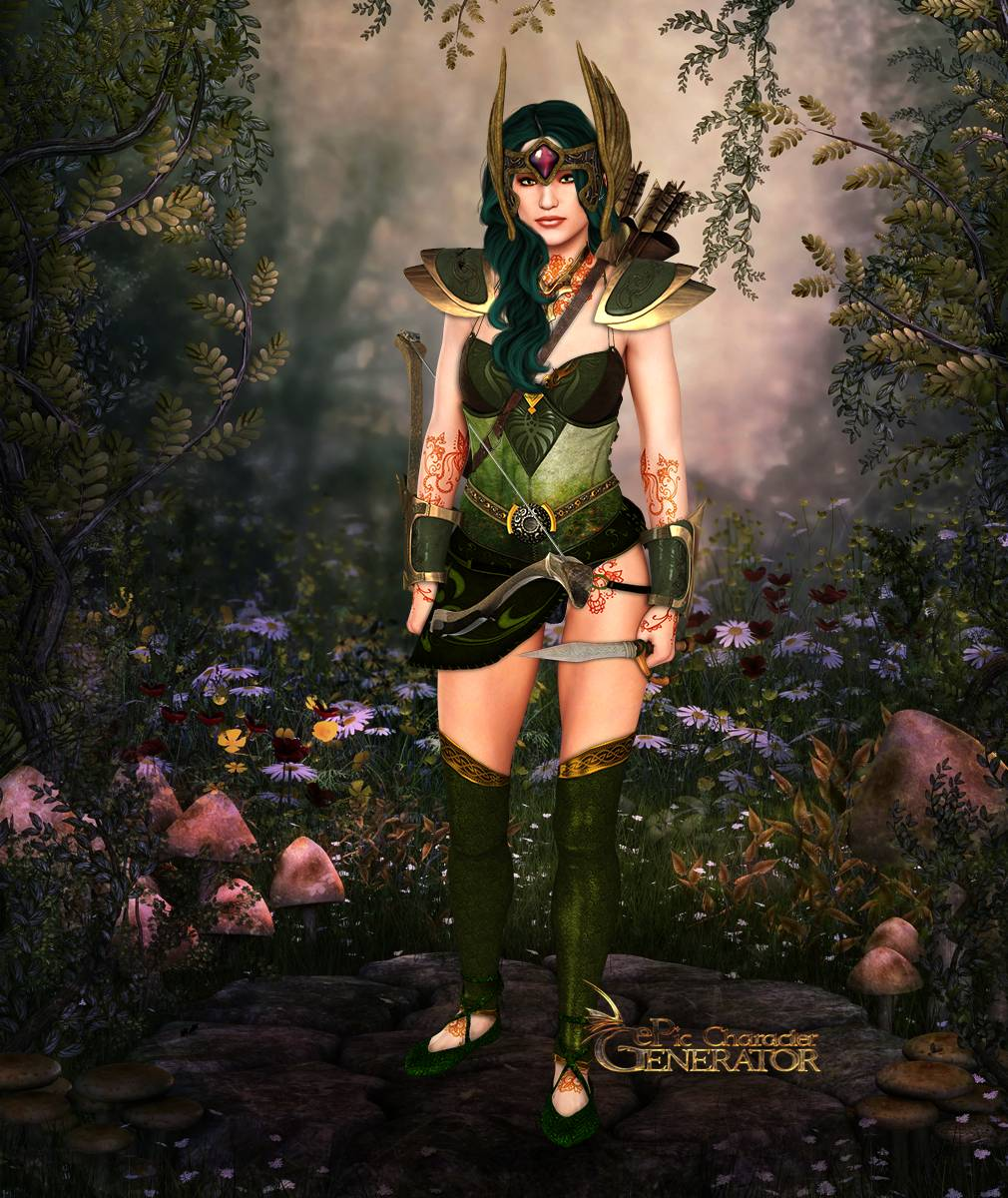 ePic Character Generator Season 2 Female Elf Screenshot 08
