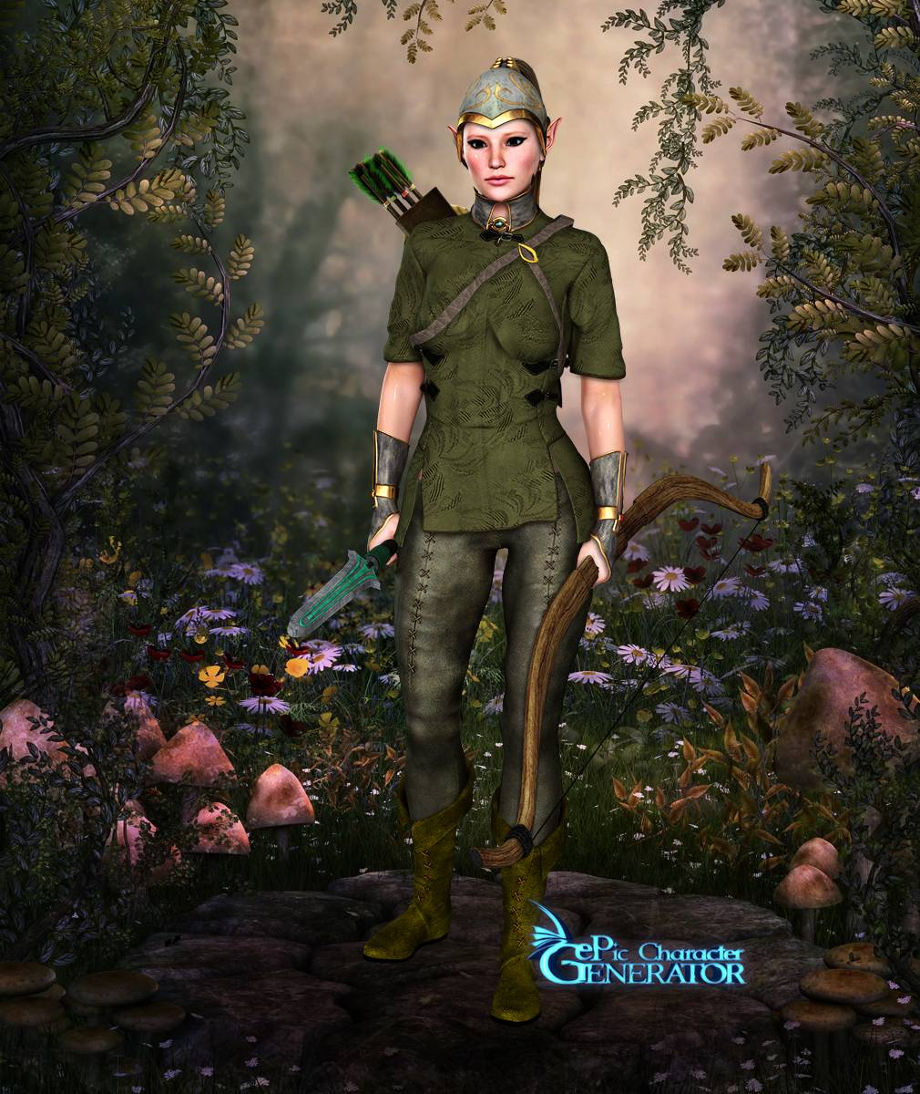 ePic Character Generator Season 2 Female Elf Screenshot 09