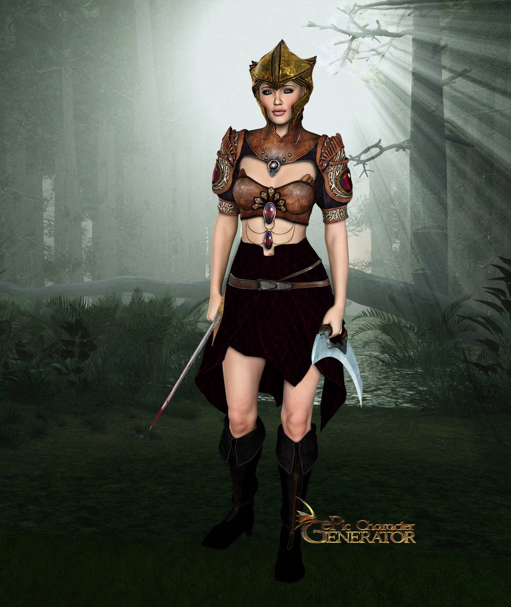 ePic Character Generator Season 2 Female Elf Screenshot 14