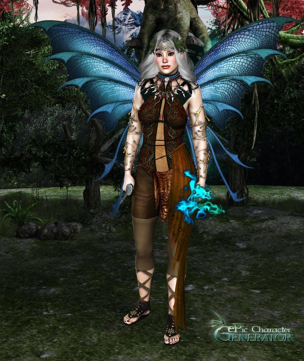 ePic Character Generator Season 2 Female Fae Folk Screenshot 05
