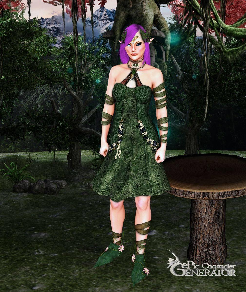 ePic Character Generator Season 2 Female Fae Folk Screenshot 11