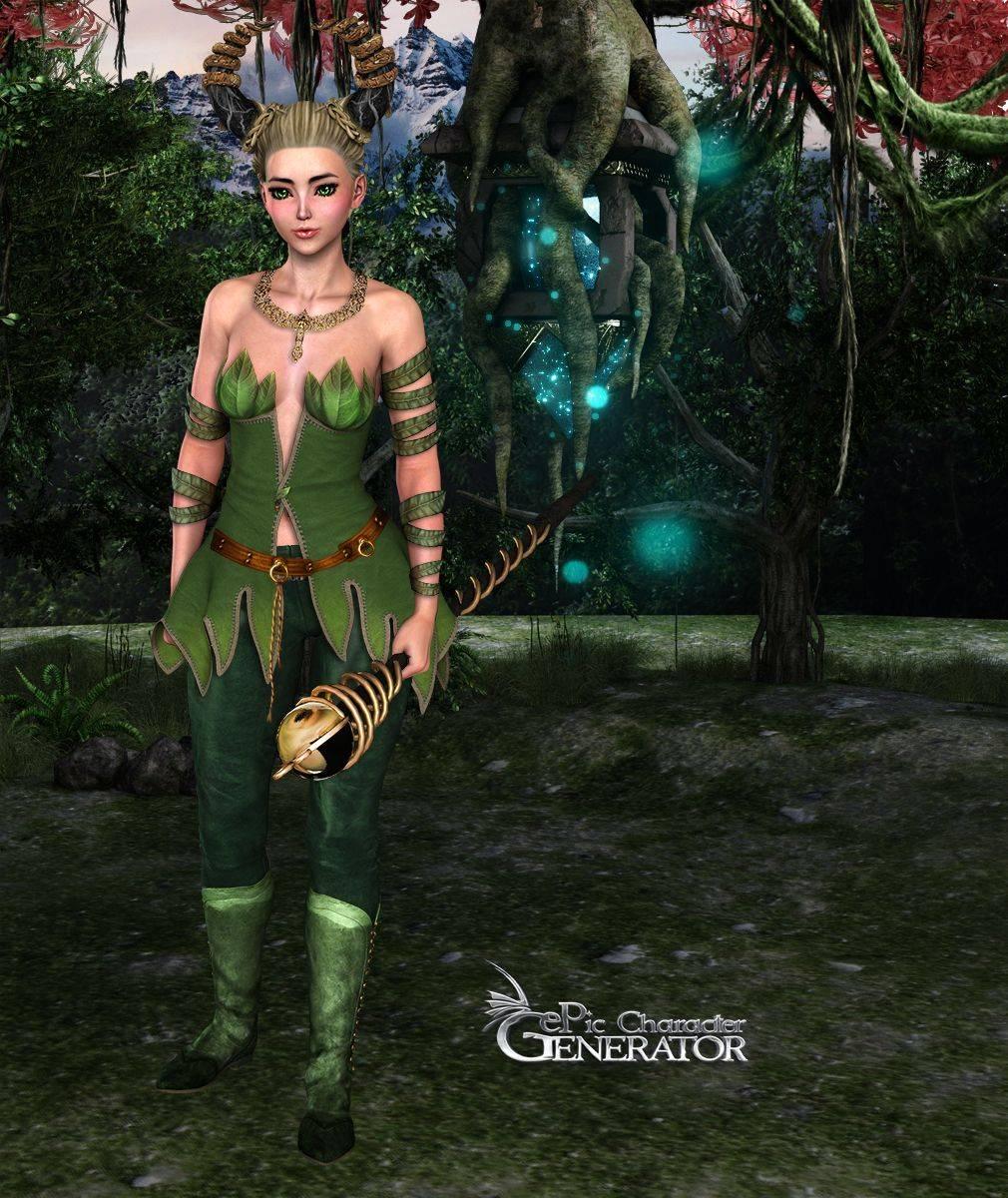 ePic Character Generator Season 2 Female Fae Folk Screenshot 13