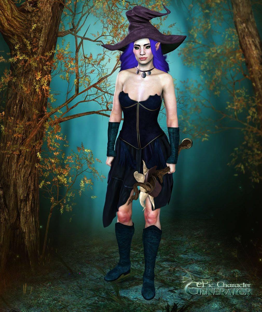 ePic Character Generator Season 2 Female Fae Folk Screenshot 15
