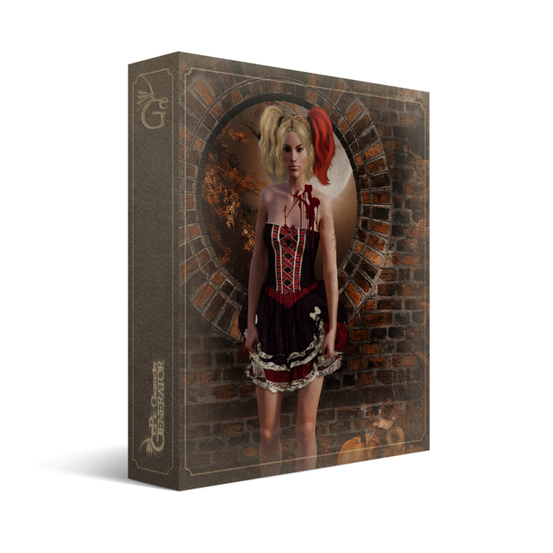 ePic Character Generator Season 2 Female Halloween Box