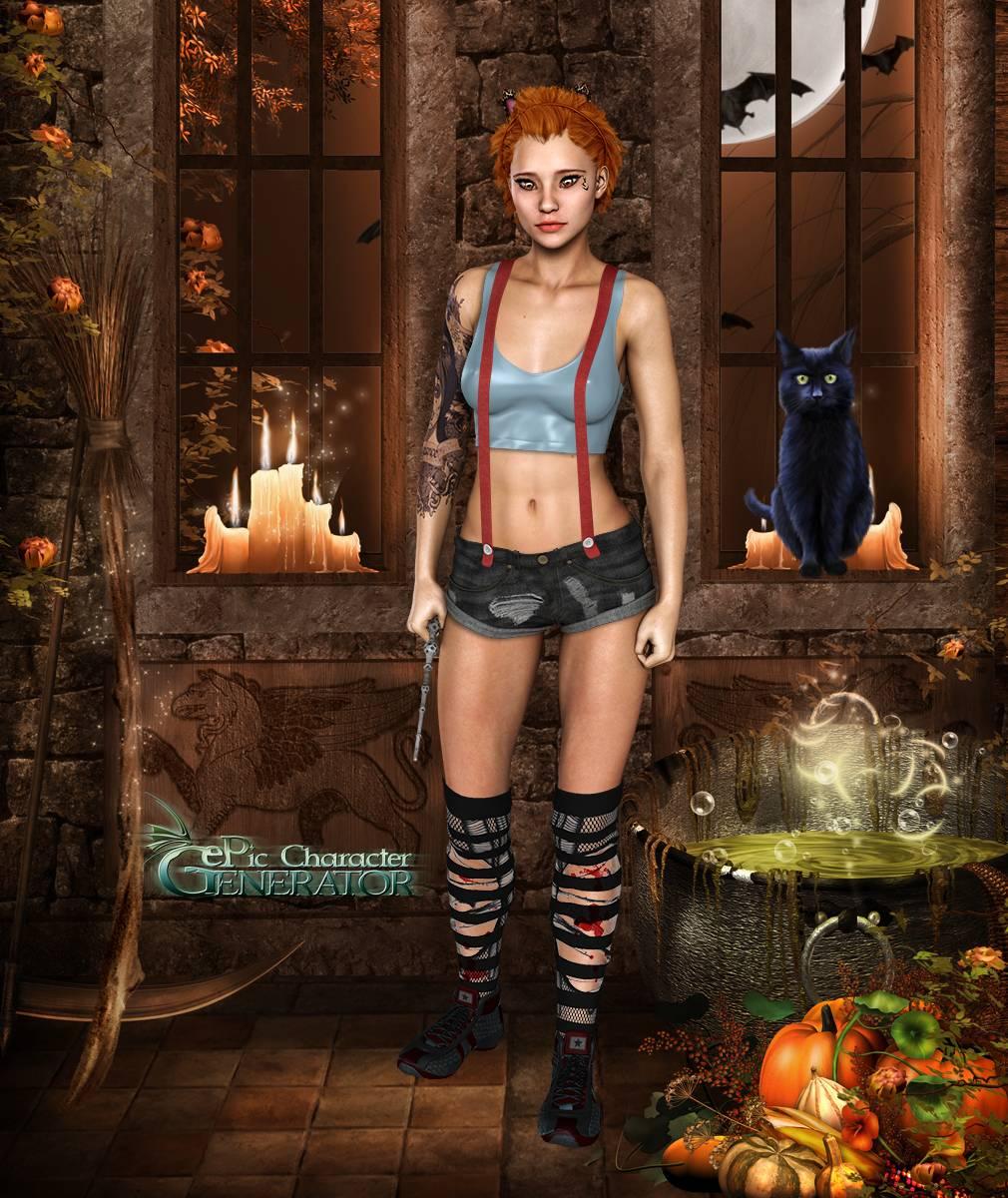 ePic Character Generator Season 2 Female Halloween Screenshot 14