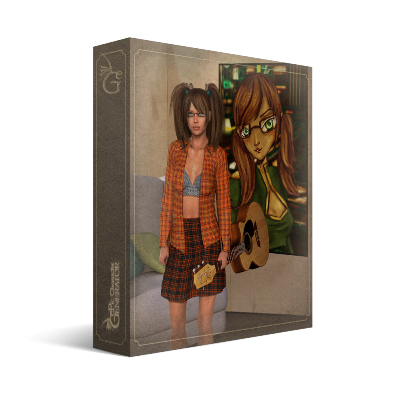 ePic Character Generator Season 2 Female Modern 2 Box