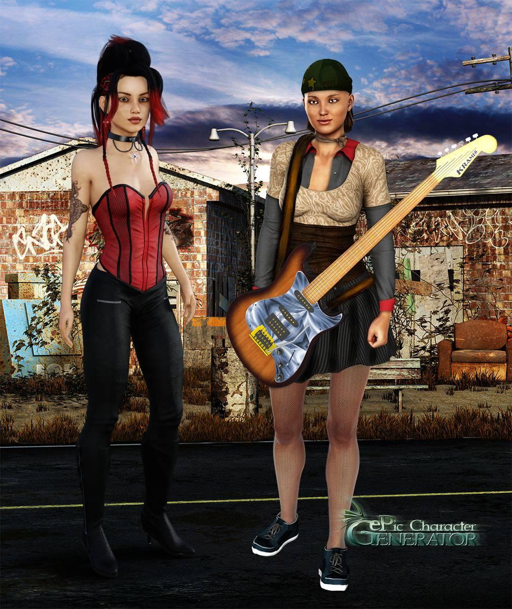 ePic Character Generator Season 2 Female Modern 2 Screenshot 08
